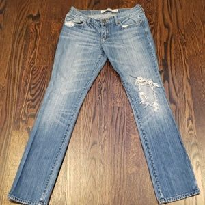 Abercrombie & Fitch Ripped Jeans